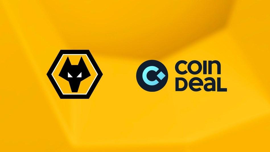 CoinDeal Wolverhampton Wanderers Logo (PRNewsfoto/CoinDeal)