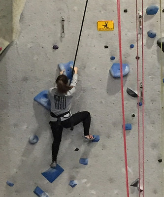 Wounded Warrior Project® recently gave warriors and their guests the opportunity to incorporate the exhilarating sport of indoor rock climbing in their physical fitness routines.