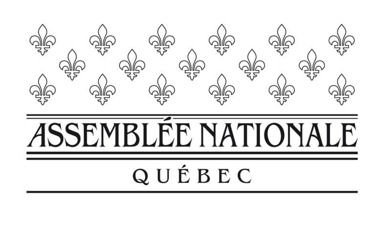 Logo : Assemblée nationale du Québec (CNW Group/Assemblée nationale du Québec)
