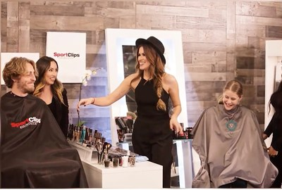 Sport Clips' team member Krystle Sierras, a member of the Artistic Team from Houston, is featured in the July 8 episode of