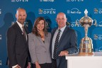 Laurence Applebaum, CEO, Golf Canada, Mary DePaoli, Executive Vice President Chief Marketing Officer, RBC, and Andy Pazder, Executive Vice President and Chief of Operations for the PGA TOUR announce new 2019 date for RBC Canadian Open (CNW Group/RBC)