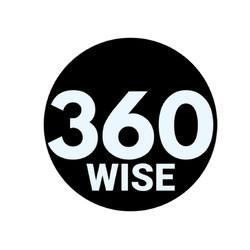 360Wise Black/White logo