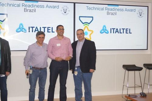 The Italtel Brazil team has won the Technical Readiness Brazil Award at Cisco's latest Technology Leadership Council (PRNewsfoto/Italtel)