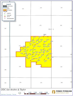 ODC San Andres & Taylor (CNW Group/Permex Petroleum Corporation)