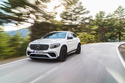 The consistently popular GLC SUV and Coupe saw a 22.2% increase in the number of units retailed. (CNW Group/Mercedes-Benz Canada Inc.)