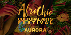 Lead partner Aurora supports the AfroChic 2018 multi-disciplinary arts festival (CNW Group/AfroChic)