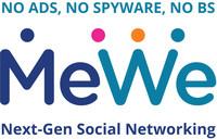 MeWe Logo (PRNewsfoto/MeWe)