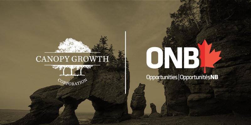 Canopy Growth s'établit au Nouveau-Brunswick et prévoit créer 136 emplois de haute qualité dans la région (Groupe CNW/Canopy Growth Corporation)