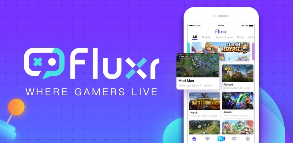 Fluxr available on iOS and Android