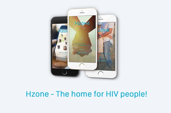 Hzone App Aimed at Helping HIV-Infected People Find True