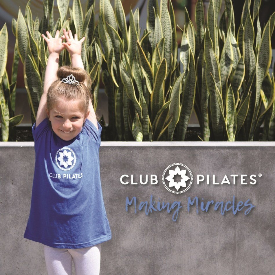 Club Pilates Partners with Miracles for Kids (PRNewsfoto/Club Pilates)