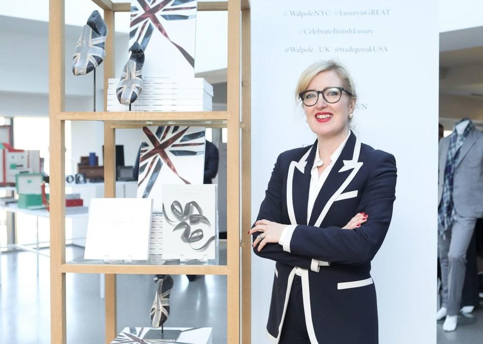 Helen Brocklebank CEO, Walpole (PRNewsfoto/Walpole)