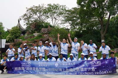 C Blue, uma jornada para intercâmbios culturais, entendimento mútuo, amizade e esperança (PRNewsfoto/CMPort)