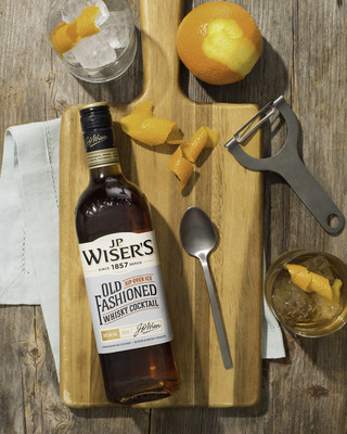 J.P. Wiser's launches ready-to-serve Old Fashioned Whisky Cocktail (CNW Group/Corby Spirit and Wine Communications)