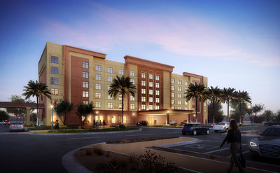 The new 151-room hotel at Casino Del Sol will have six floors, meeting rooms, lounge area, and a family friendly pool deck.