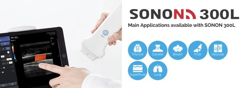 SONON300L handheld ultrasound from Healcerion
