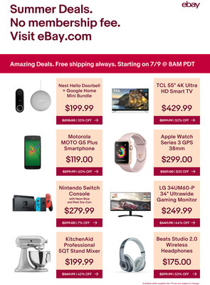 Massive Deals Launching on eBay This Week as Summer Heats Up. Visit eBay.com