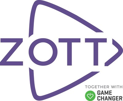 ZOTT is a new cloud-based multi-channel entertainment and educational content platform that is revolutionizing patients' freedom to play, learn, and socialize within the hospital environment. (PRNewsfoto/ZOTT)
