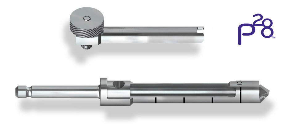 Paragon 28 Morselizing Bone Graft Harvester, AO, 8mm - Available in 6mm, 8mm, and 10mm non-sterile options