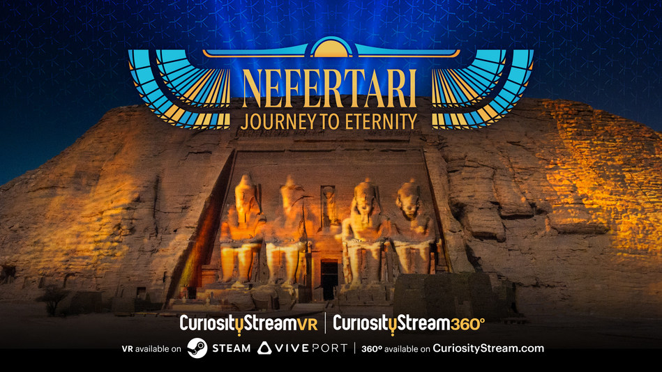 CuriosityStream launches CuriosityStreamVR and CuriosityStream360° with a VR experience inside Egyptian Wonder Nefertari's Tomb