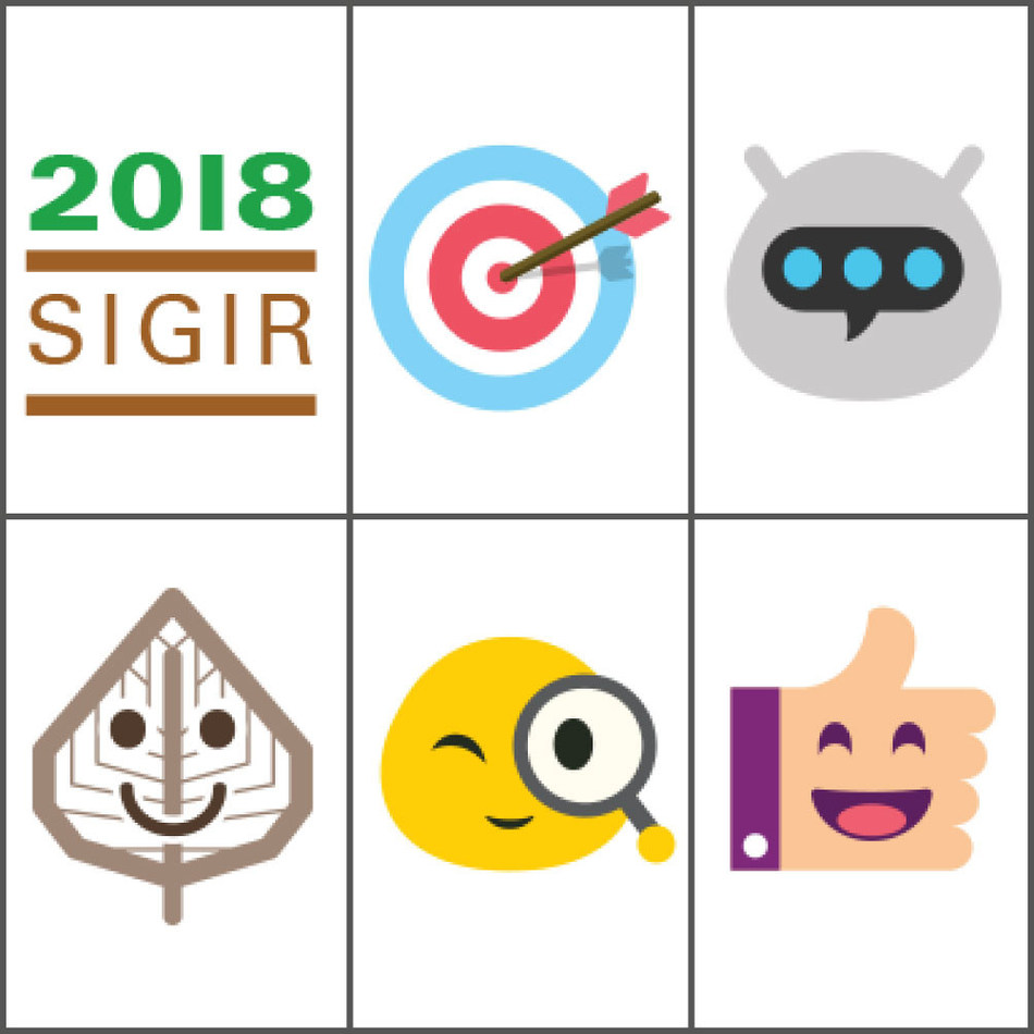Kika Tech Emojis Specially Designed for the 2018 SIGIR Conference