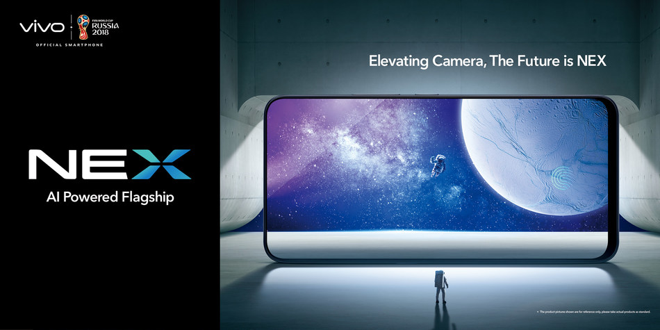 Vivo Launches the Truly Bezel-less NEX Flagship in International Markets
