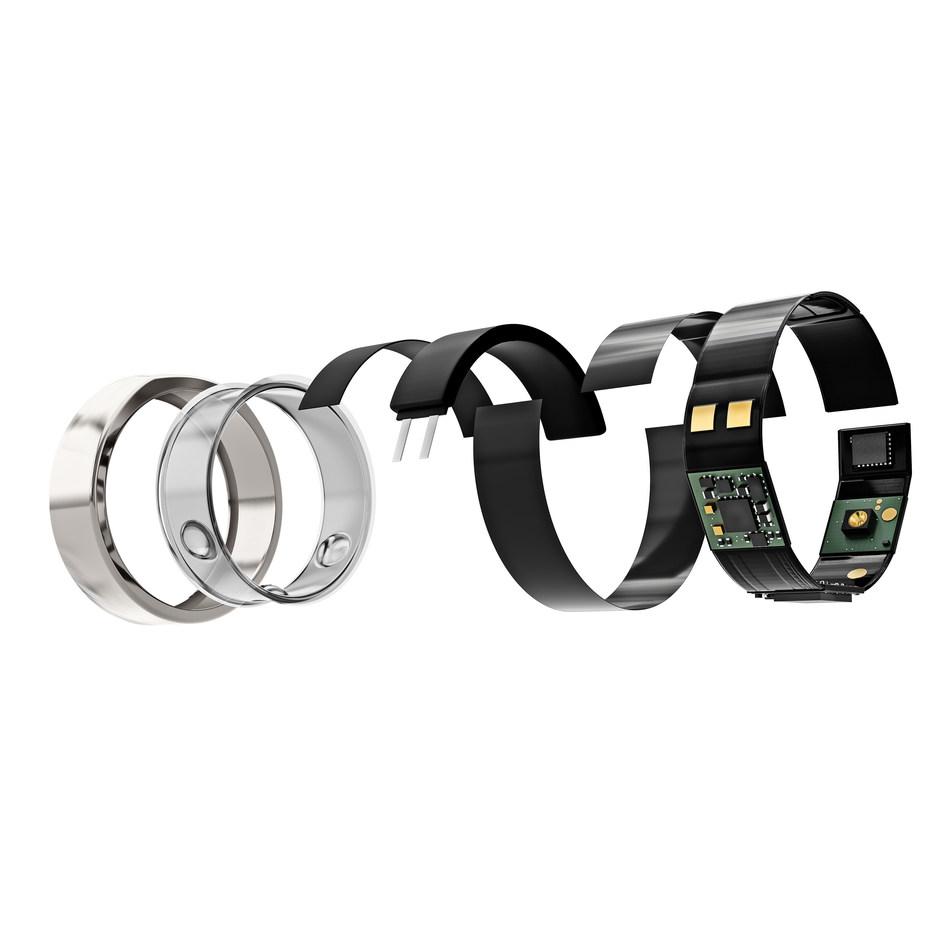 Oura Ring Technology (PRNewsfoto/Oura Health Ltd)