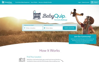 BabyQuip has delivered more than 10,000 orders to families at hotels, vacation rentals and private homes at more than 225 destinations in the US and Canada.