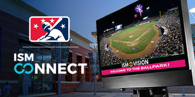 Minor League Baseball™ (MiLB™) today announced a long-term agreement with ISM Connect—a leading provider of data metric smart screen engagement technology built to promote enhanced live event experiences—to form a new digital network to connect MiLB teams, partners and fans across the country.