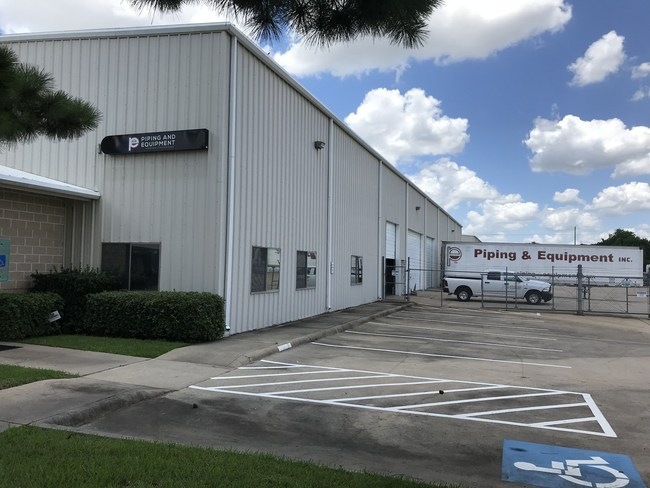 Piping and Equipment's Houston North branch location.
