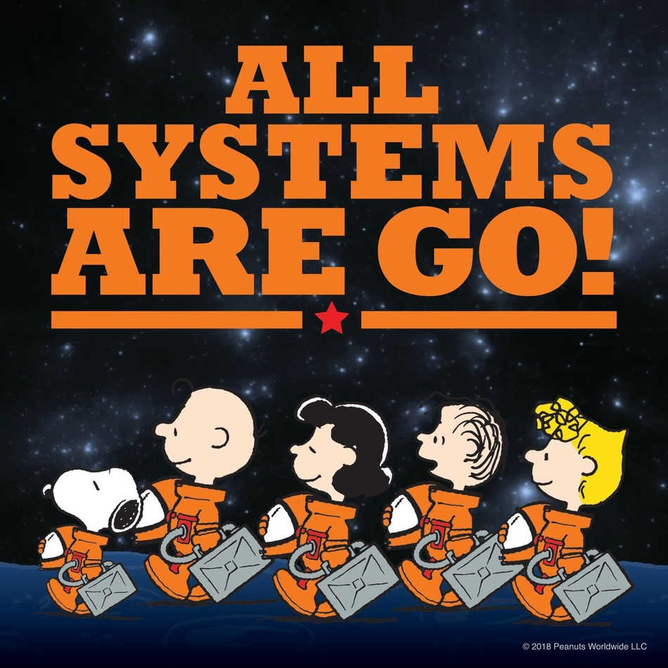 NASA and Peanuts Worldwide announced today the signing of a multi-year Space Act Agreement, building on a historic partnership that began during the Apollo missions of the 1960s, (CNW Group/Peanuts Worldwide)