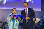 Justice Ruth Bader Ginsburg with Co-Founder and Chairman of Genesis Prize Foundation Stan Polovets