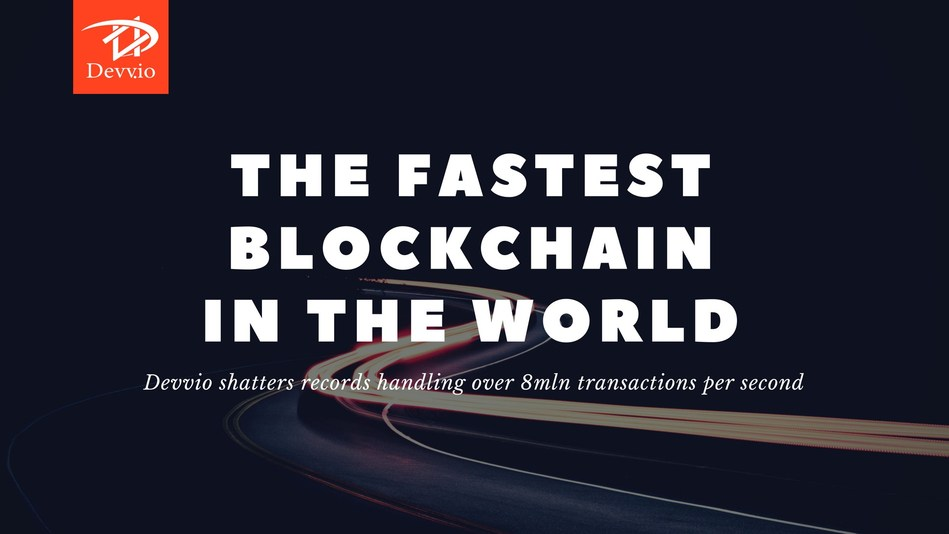 Devvio shatters records handling over 8m transactions per second