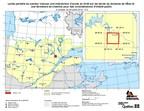 Levée partielle du secteur visé par une interdiction d'accès en forêt sur les terres du domaine de l'État et une fermeture de chemins pour des considérations d'intérêt public (Groupe CNW/Ministère des Forêts, de la Faune et des Parcs)