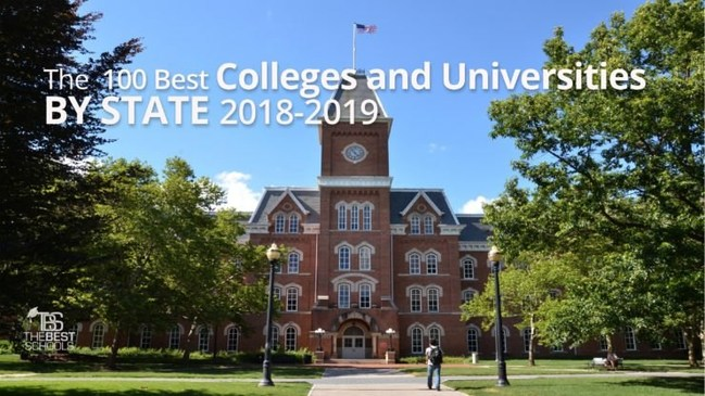 The 100 Best Colleges and Universities by State 2018-2019 from TheBestSchools.org