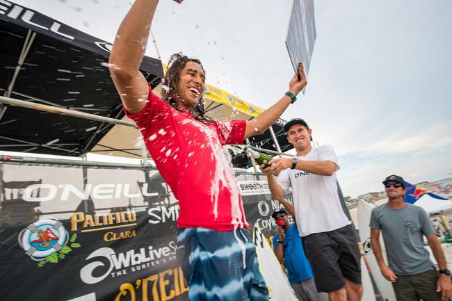 2017 O'Neill/Sweetwater Pro Champ Rob Kelly of Ocean City, NJ - Courtesy Brad Styron