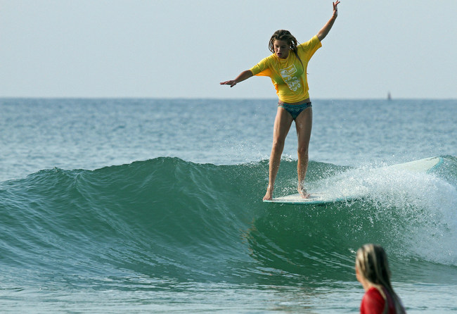 Wahine Classic longboard competition - Courtesy of Ed Potter