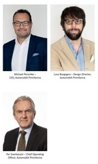 Automobili Pininfarina Appoints Board of Directors to Launch Luxury Car Portfolio