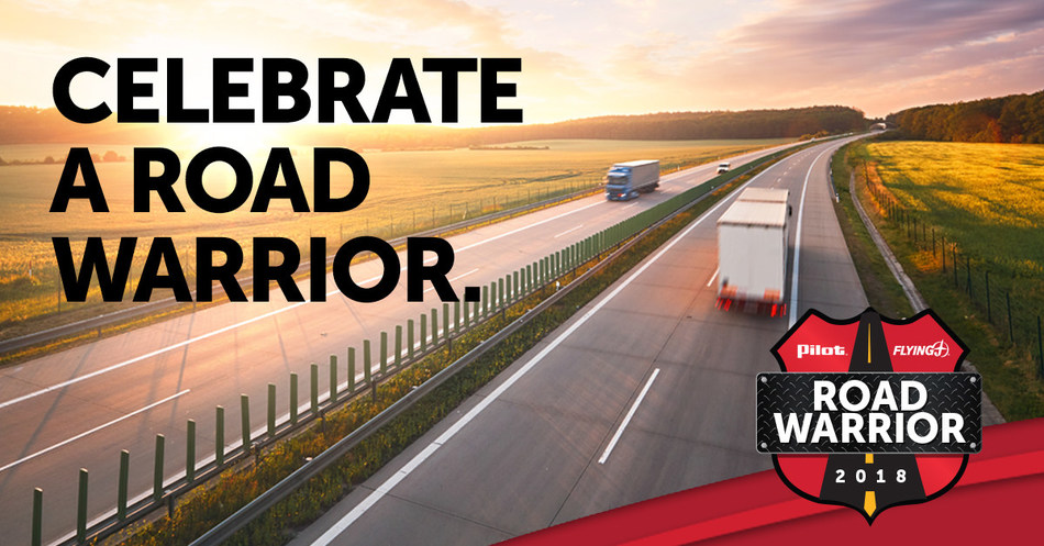 Pilot Flying J Seeks Nominations for Fifth Annual Road Warrior Contest
