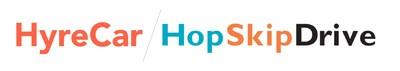 HyreCar and HopSkipDrive Logo