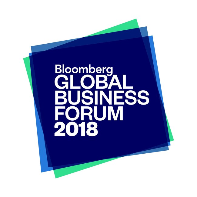 The 2018 Bloomberg Global Business Forum will be hosted by Michael R. Bloomberg and held on September 26th at the Plaza Hotel in New York City. (PRNewsfoto/Bloomberg Philanthropies)