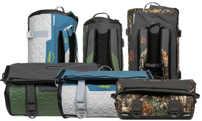 The latest in the outdoor gear line from OtterBox, Yampa Dry Duffle is available in three sizes – 35-liter, 70-liter and 105-liter – and redefines the dry bag with enhancements that make gear-toting easier from start to finish.