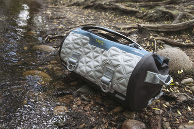 Yampa Dry Duffle bags feature ultra-low density, open-celled foam that protects bag contents during drops and impact, while keeping the bag light as a feather.