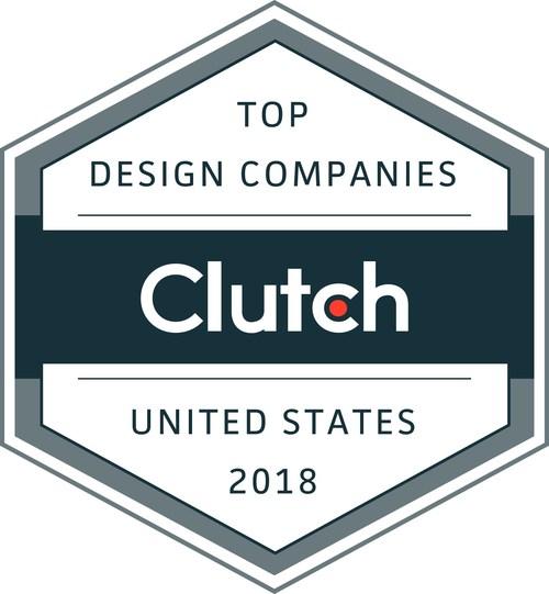 Clutch ranks the top design companies in the U.S. in 2018
