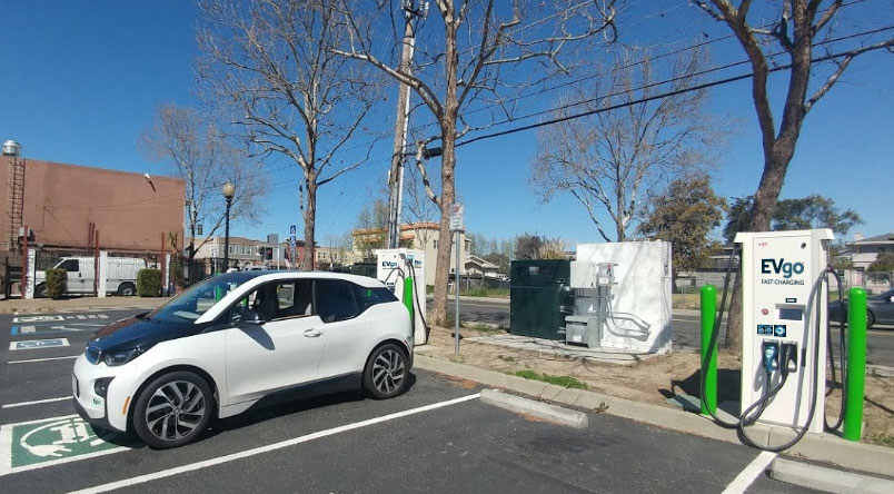 EVgo Announces Grid-Tied Public Fast Charging System With Second-Life Batteries