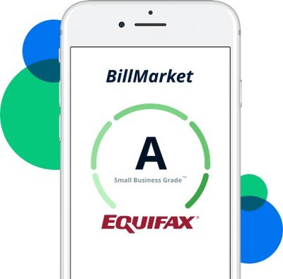 BillMarket makes it easy for small businesses to both understand their credit profile and use it to extend payment terms in their supply chain. Canadian small businesses can instantly access their free credit grade and available credit at www.billmarket.com(CNW Group/Thinking Capital)
