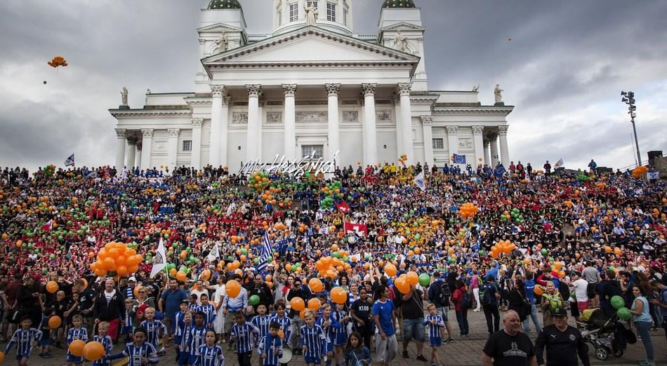 Record photo (PRNewsfoto/Helsingin kaupunki)