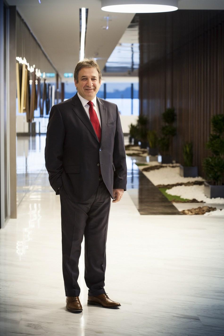 CEO Ahmet KIRMAN (PRNewsfoto/Sisecam Group)