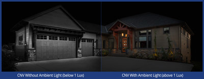 Lorex Ambient lighting comparison. (CNW Group/LOREX Technology Inc.)