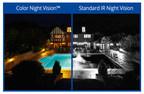 Lorex colour night vision comparison (CNW Group/LOREX Technology Inc.)